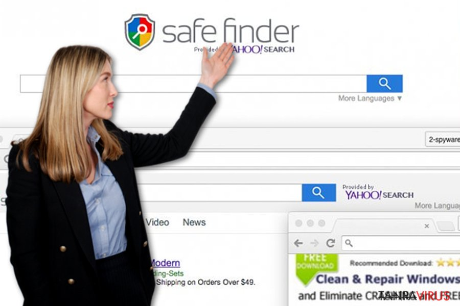 Virus Safe Finder