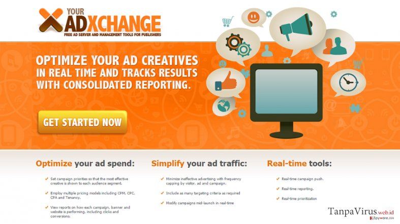 Iklan Pop-up YourAdExchange.com snapshot